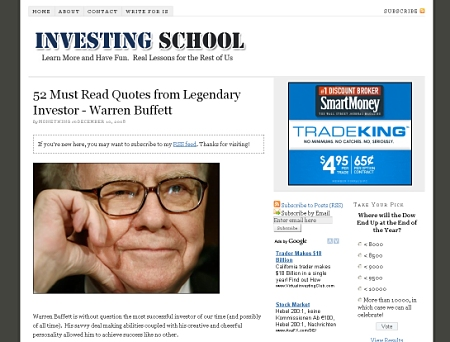 Investing School, powered by Thesis