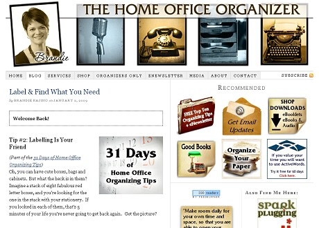The Home Office Organizer