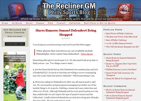 The Recliner GM