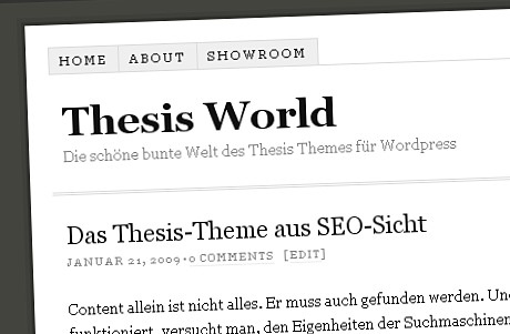 Thesis World